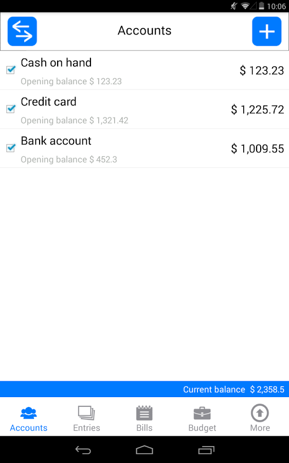 Money Log : Budget Manager- screenshot