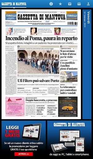 新聞必備APP下載 La Gazzetta di Mantova 好玩app不花錢 綠色工廠好玩App