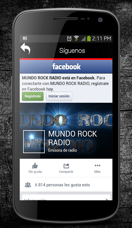 Mundo Rock Radio- screenshot