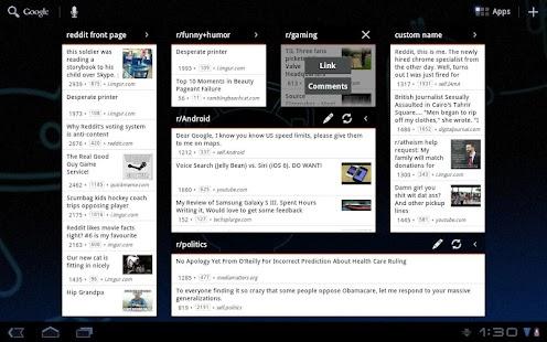 redditastic – reddit widget - screenshot thumbnail