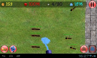 Screenshot of Insect Fighter