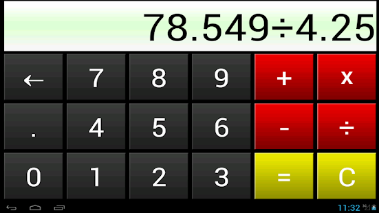 Fat Finger Calculator - screenshot thumbnail