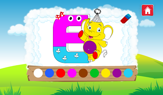 ABC Funny Cloud Learn Alphabet - screenshot thumbnail