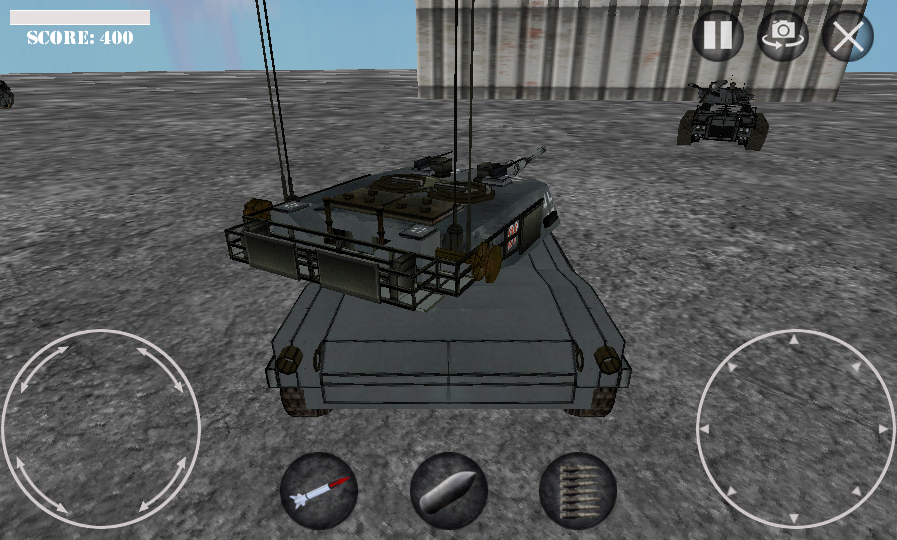 Battle of Tanks 3D War Game- screenshot