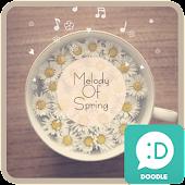 melody of spring 카카오톡 테마