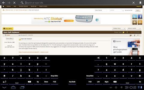 Open Split Keyboard screenshot 5