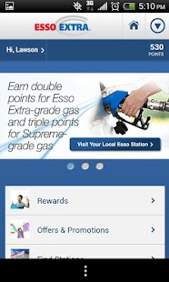 Esso Extra App - screenshot thumbnail