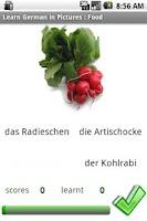 Screenshot of German in Pictures: Food