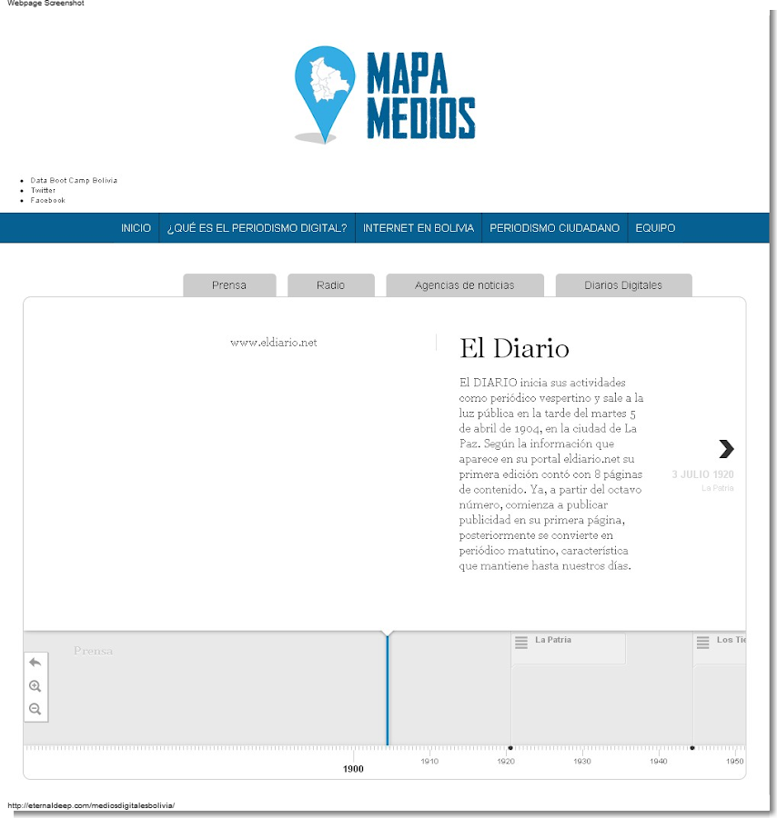 Mapa Medios - screenshot