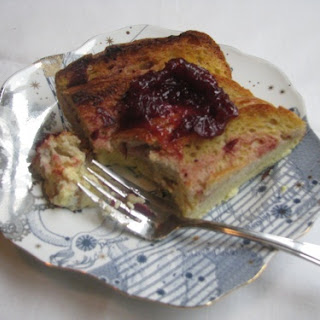 Cranberry Baked French Toast
