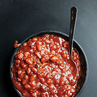 Barbecued Baked Beans.