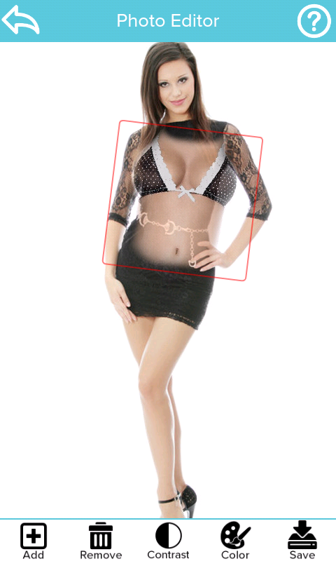 Naked Scanner Pro (Girls) - screenshot