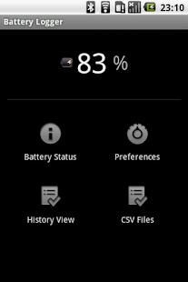 Simple Battery Logger- screenshot thumbnail