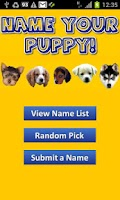 Screenshot of Name Your Puppy! (FREE)
