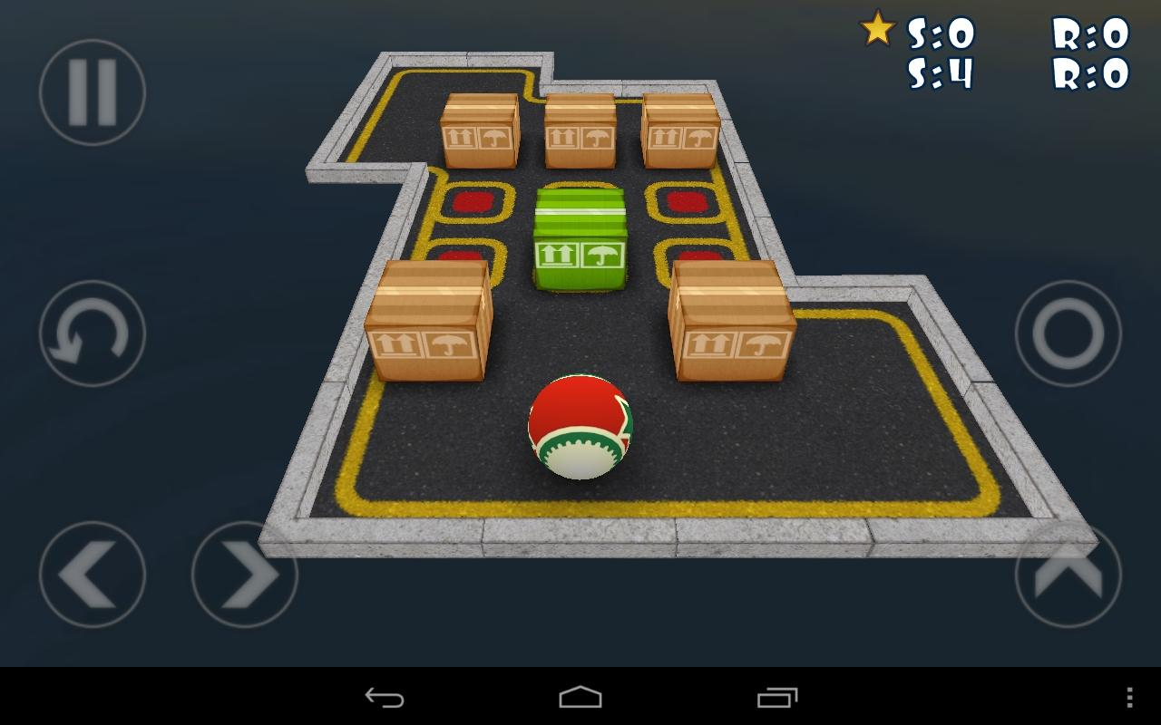 SokoBall (Sokoban 3d)- screenshot