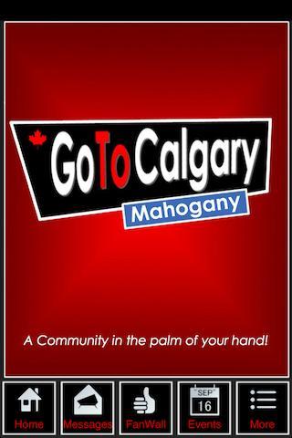 Go To Calgary - Mahogany