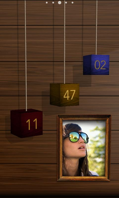 CUBE PENDANT FreeLiveWallpaper- screenshot