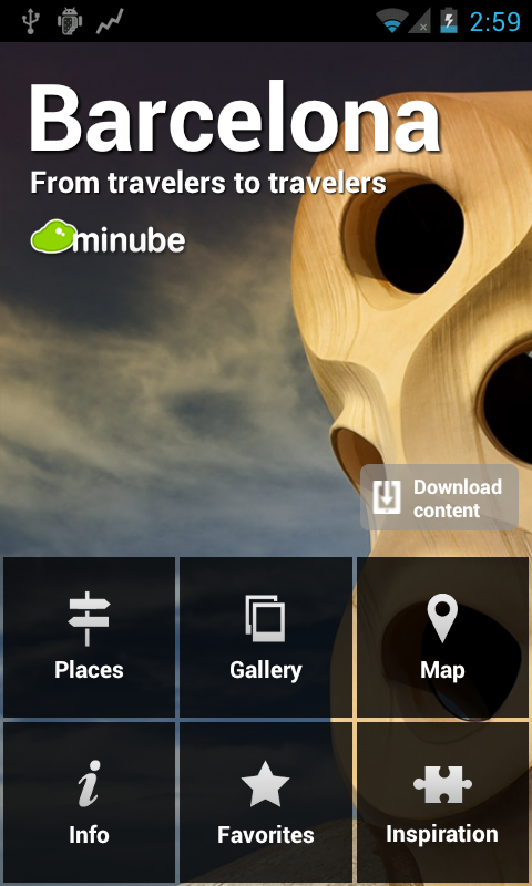 Barcelona Travel Guide- screenshot