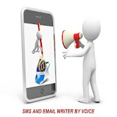 Write SMS & Email By Voice