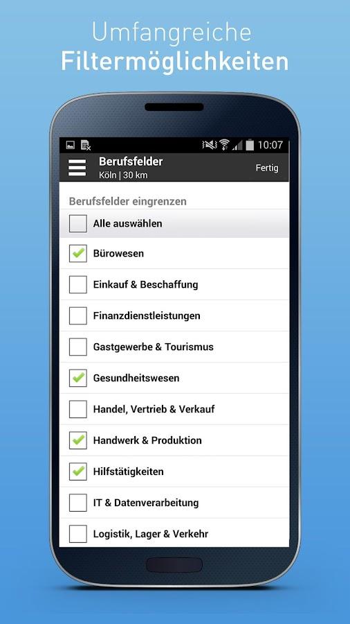 Job-Suche von meinestadt.de - screenshot