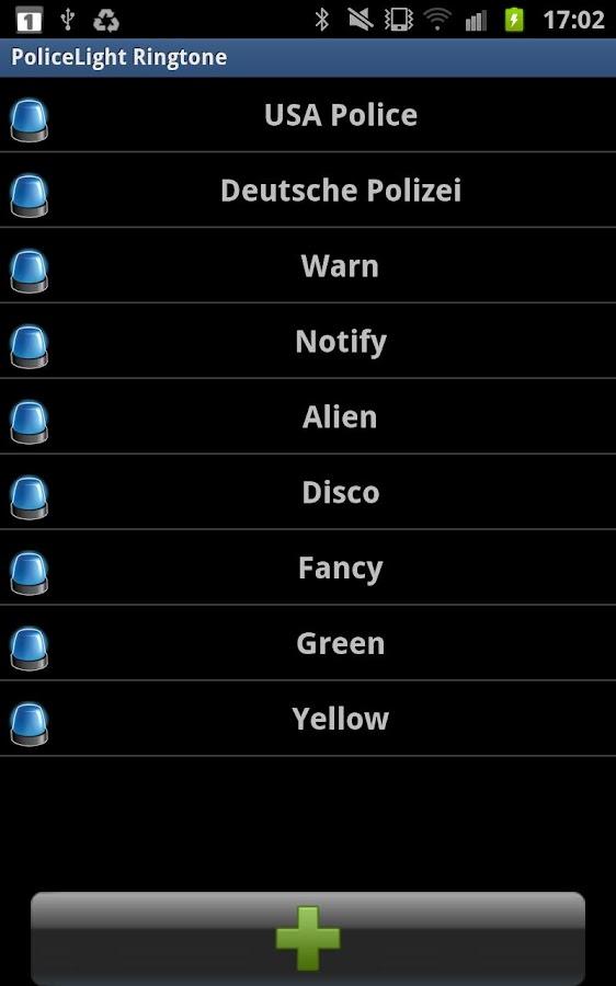 Police Lights Ringtone - screenshot