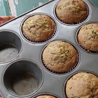 Gluten-Free Wheat-Free Zucchini Flaxseed Muffins