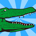 Mouth of alligator icon