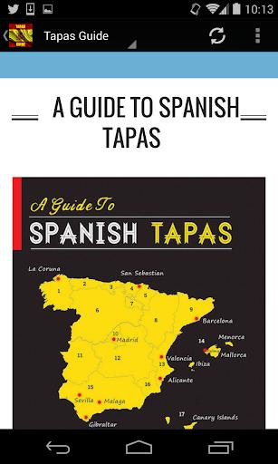 Spanish Tapas Guide