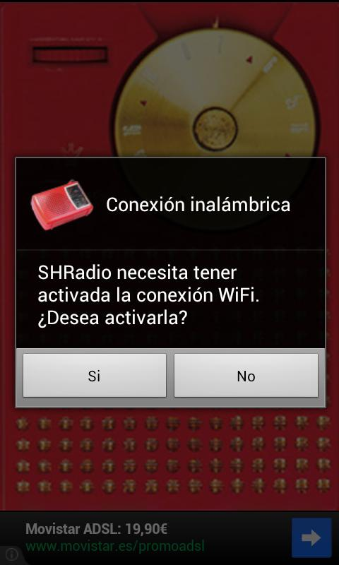 SHRadio - screenshot