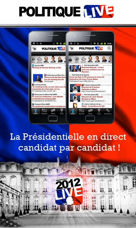 Politique Live - screenshot