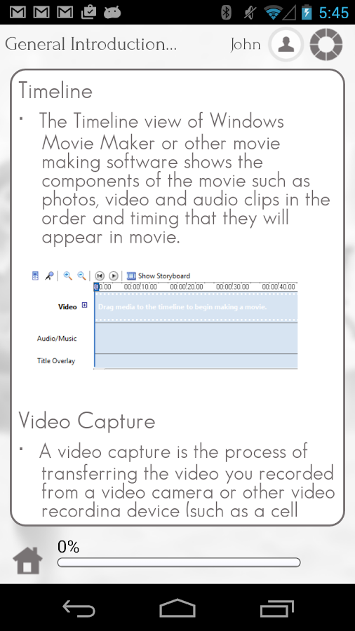 Learn Windows Movie Maker - screenshot