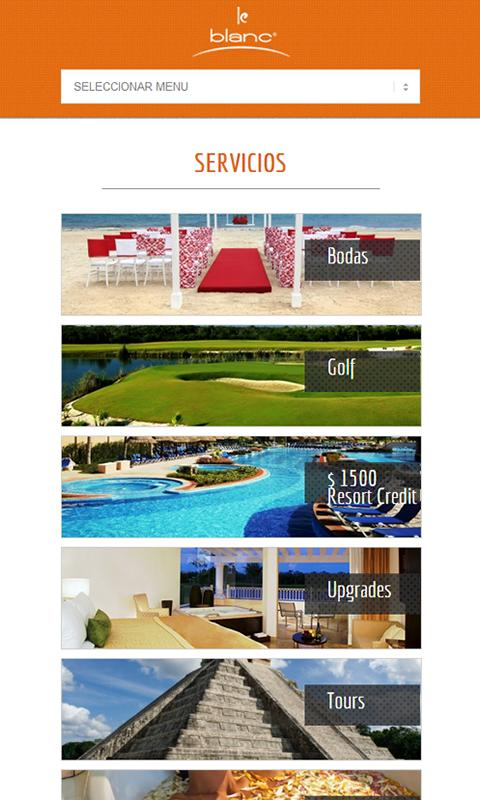Le Blanc Spa Resort- screenshot
