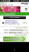 Screenshot of Flowers Shop - UK Delivery