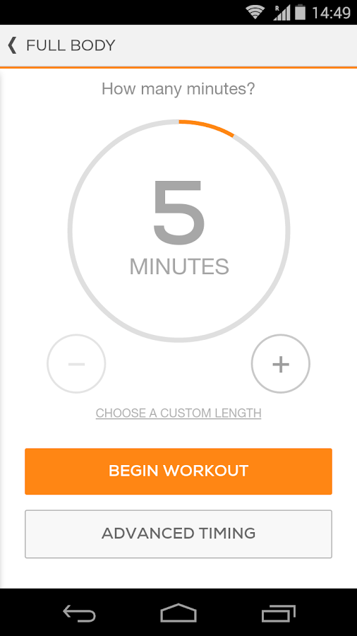Sworkit Lite Personal Trainer - screenshot