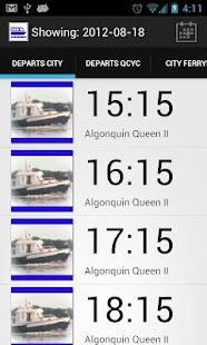 QCYC Tender Schedule- screenshot thumbnail