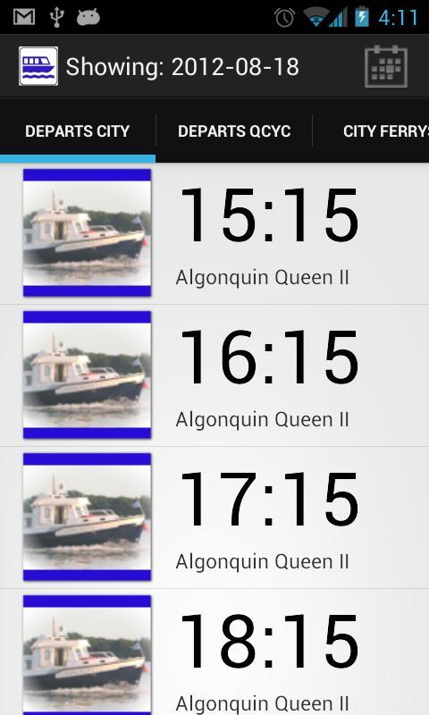 QCYC Tender Schedule- screenshot