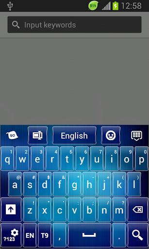 GO鍵盤藍色