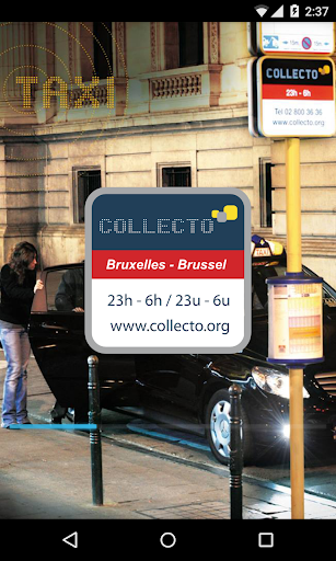 Collecto Brussels taxi at 5€