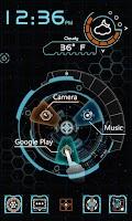 Screenshot of K-Program GO Dynamic Theme