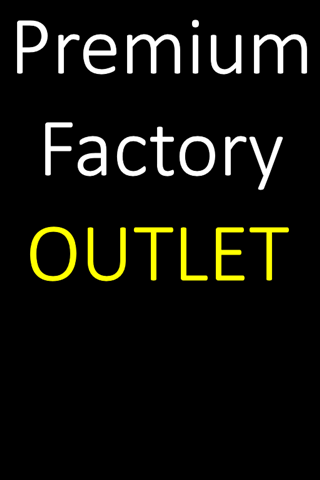 premium branded factory outlet