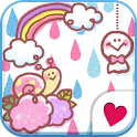 Cute wallpaper★Cute raindrop icon