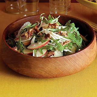 Apple-Fennel Salad with Walnuts.