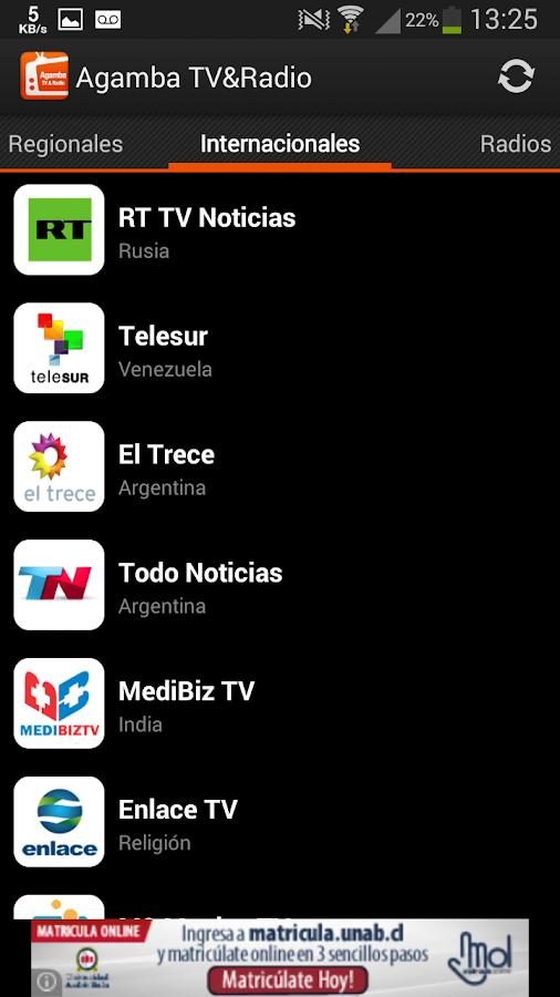 Agamba TV&Radio - screenshot