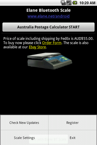 Australia Postage Calculator- screenshot