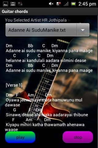 Sinhala Guitar Chords By Kingsoft Lanka Google Play United States