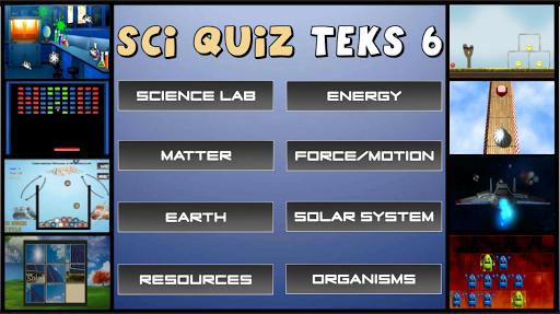 Sci Quiz TEKS 6
