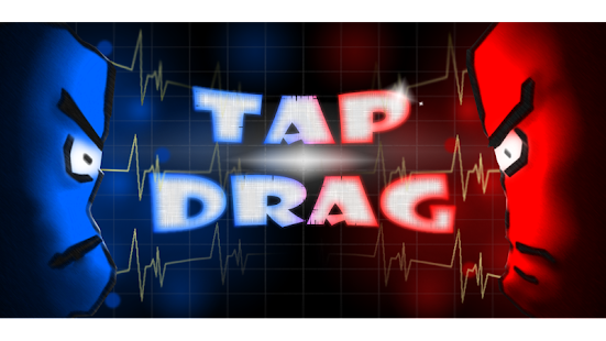 Tap Drag: Two player game