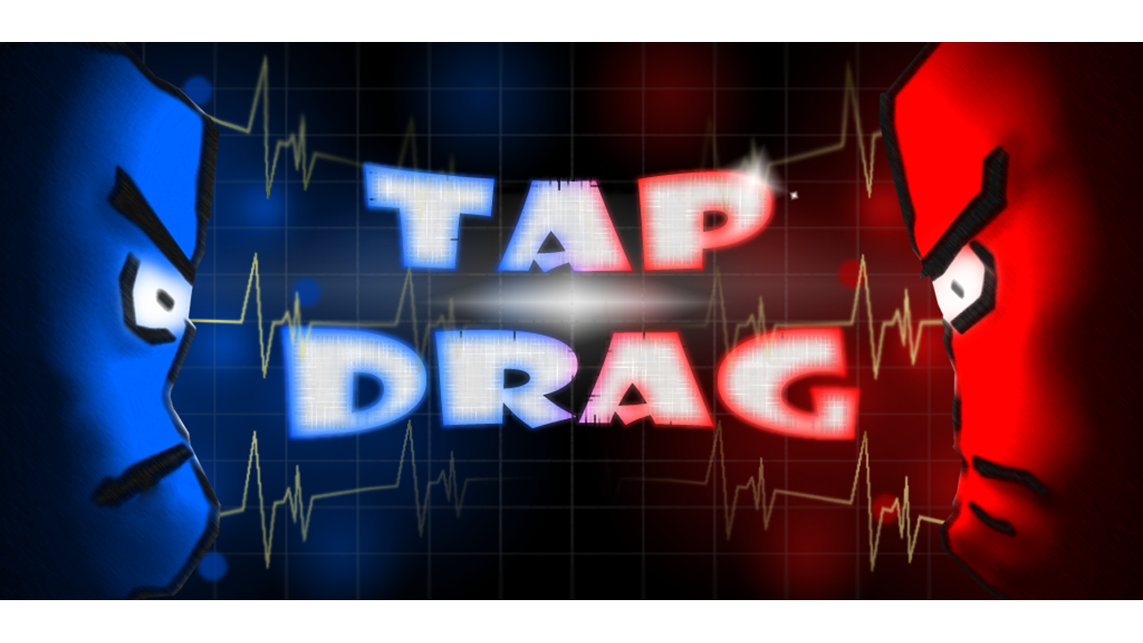 Tap & Drag: Two player game - screenshot