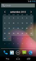 Screenshot of Free Calendar Widget