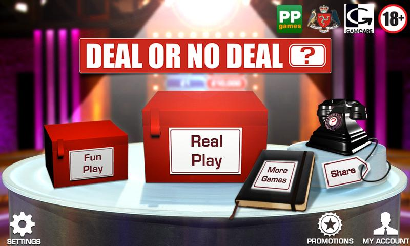 Deal or No Deal – Casino Game - screenshot